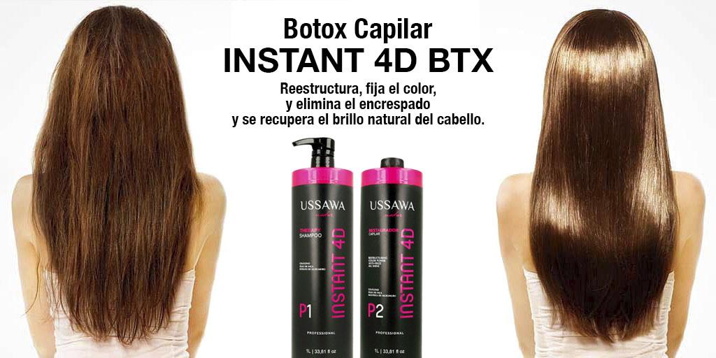 INSTANT 4D: el botox capilar que está revolucionando la peluquería